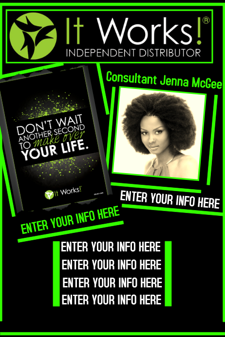 It Works Flyer Template PosterMyWall