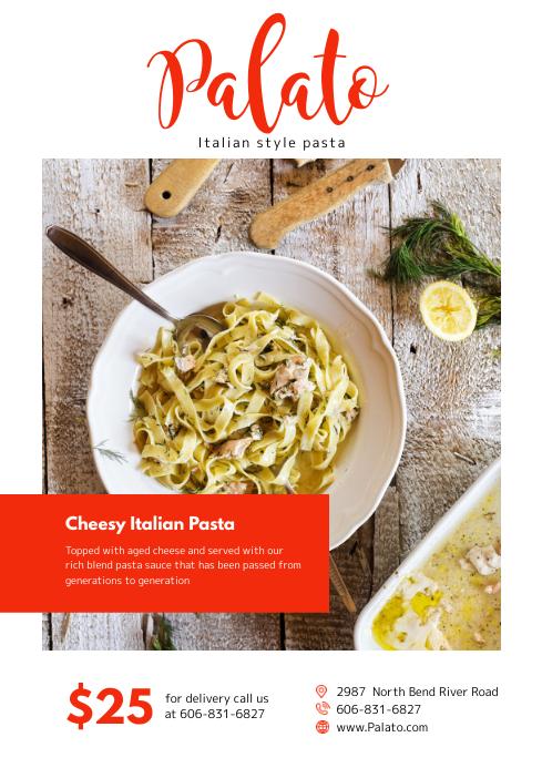 Italian Diner Magazine Ad