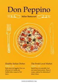 Italian Diner Restaurant Magazine Ad