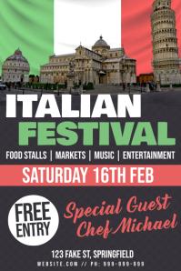 Italian Festival Poster