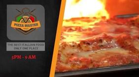 ITALIAN FOOD Ecrã digital (16:9) template