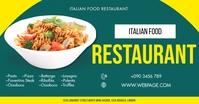 ITALIAN FOOD RESTAURANT FLYER Imagem partilhada do Facebook template