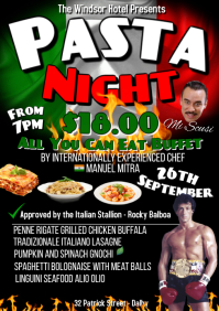 Italian Night A1 template