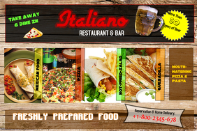 Italiano Bar and Restaurant Template