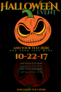 Jack Lantern Skellington Nightmare Halloween Pumpkin Patch