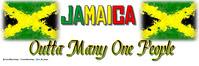 Jamaica Banner 2 x 6 template