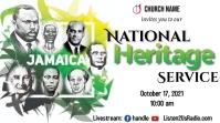 Jamaican Heritage Church Service Miniatura de YouTube template