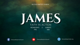 JAMES sermon series Digital Display (16:9) template
