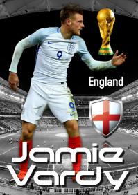 Jamie Vardy Poster