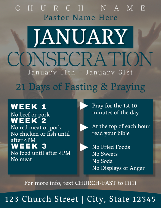 January Consecration