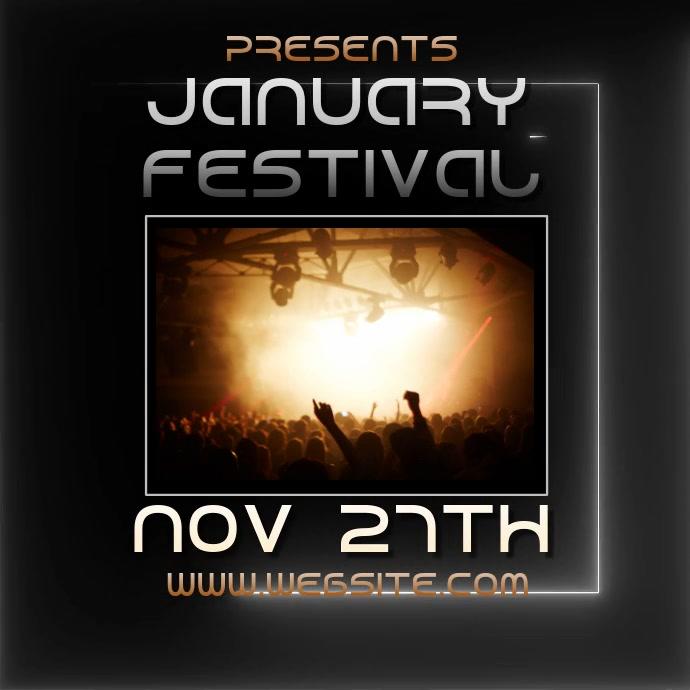 JANUARY fest festival ad video digital
