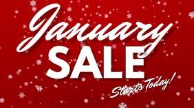 January Sale Digital Template