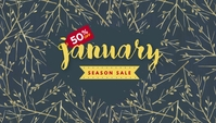 January Season Sale Templates Koptekst blog