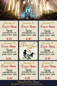 January Upcoming Events Disney