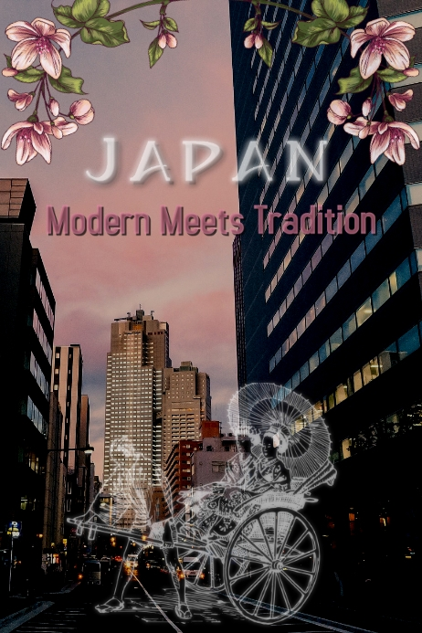 Japan/Tokio/Tradition/Turism/Poster