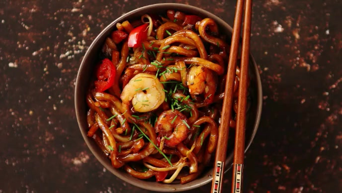 japanese cuisine food video YouTube 缩略图 template
