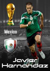 Javier Hernandez Poster