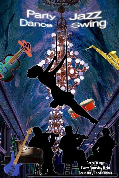 Jazz Concert/ Nightclub/ Swing/ Dance/ Jazz Night