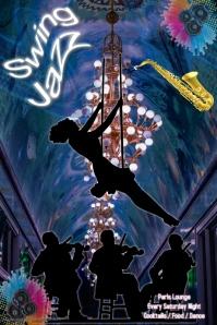 Jazz Concert/ Nightclub/ Swing/ Dance/ Jazz Night2