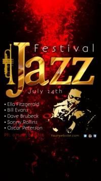 jazz festival template