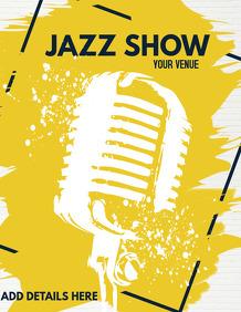 jazz flyers,karaoke flyers,event flyers