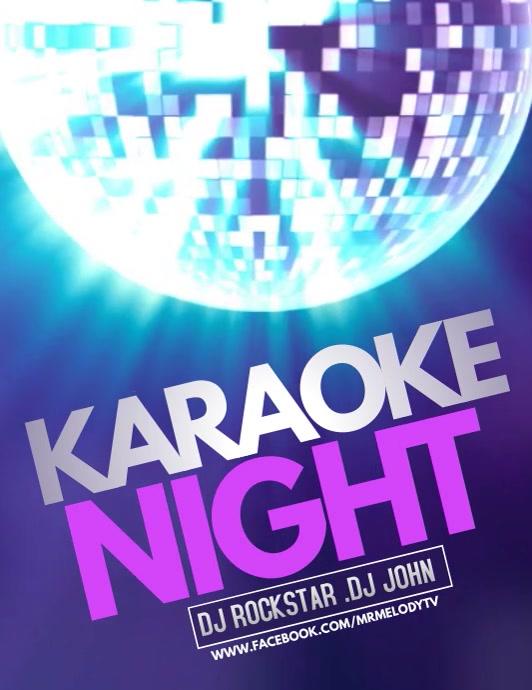 Jazz flyers templates,karaoke flyers,event flyers