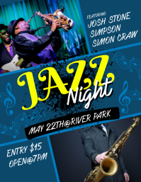 Jazz Night Flyer