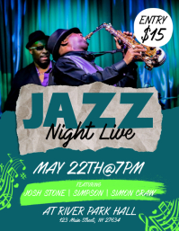 Jazz Night Live Flyer