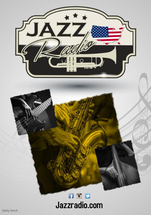 Jazz Radio Poster