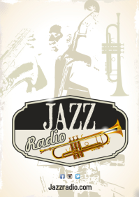 Jazz Radio Poster Template