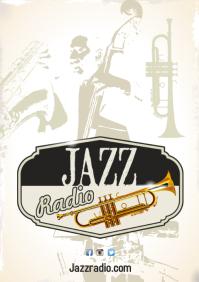 Jazz Radio Poster Template