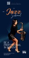 Jazz school pull up festival template