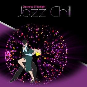 Jazz/Swing/night party/lounge Квадрат (1 : 1) template