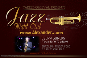 Jazzy Event Flyer Template