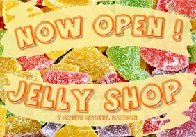 JELLY SHOP A4 2020 template