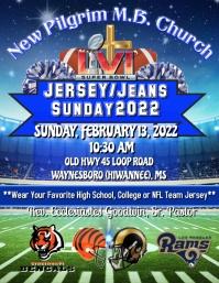 Jersey/Jeans Sunday Service