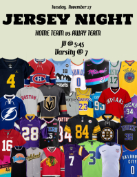 Jersey Night Game Day