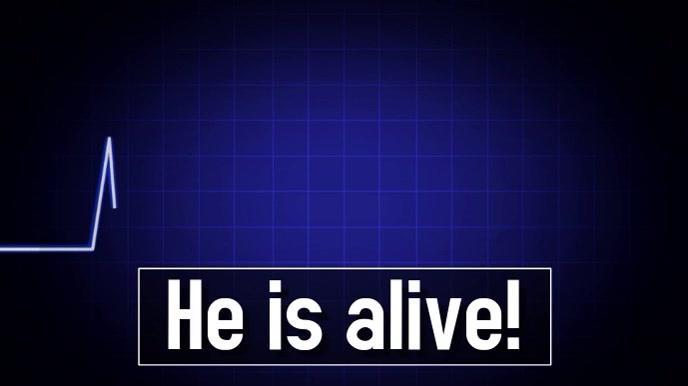 jesus alive