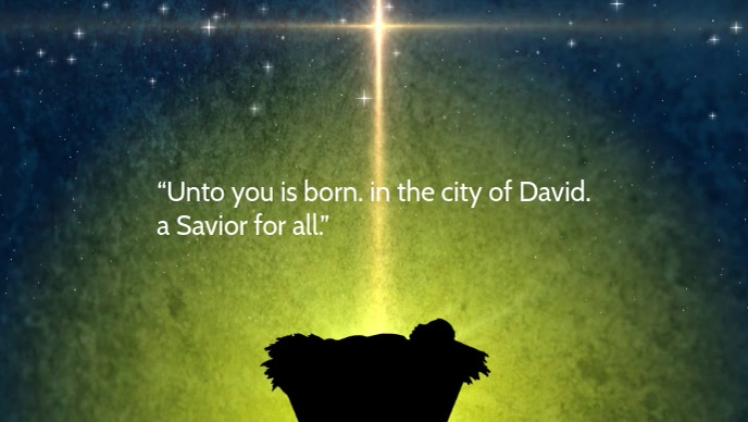 Jesus born template