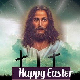 Jesus Christ | Good Friday Portada de Álbum template