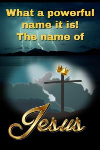 Jesus/christian/church/powerful