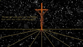 Jesus peace template