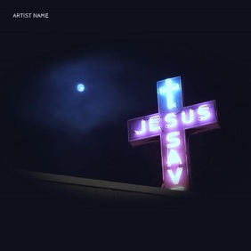 Jesus Save - Album Cover Templates Albumcover