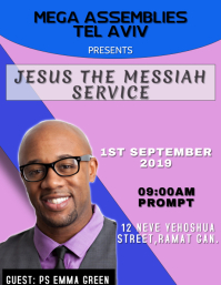 Jesus The Messiah Service Template