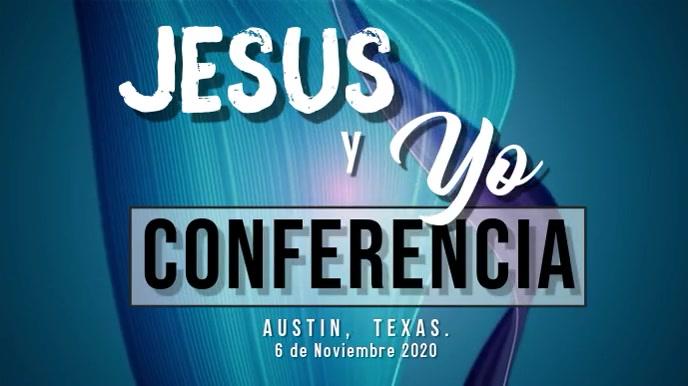 Jesus y yo conferencia Affichage numérique (16:9) template