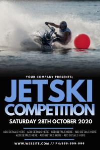 Jetski Competition Poster