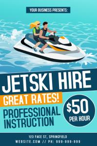 JetSki Hire Poster