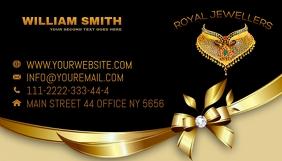 JEWELLERY Business Card template