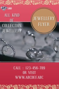 jewellery flyer template,small business flyer