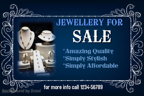 Jewelry For Sale Template